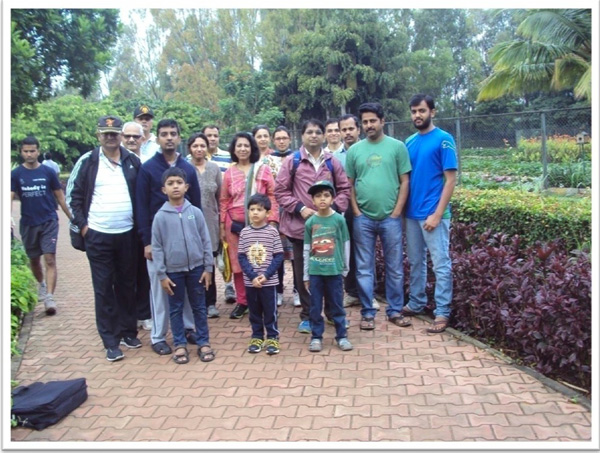 The environment committee participants at the aditi garden
