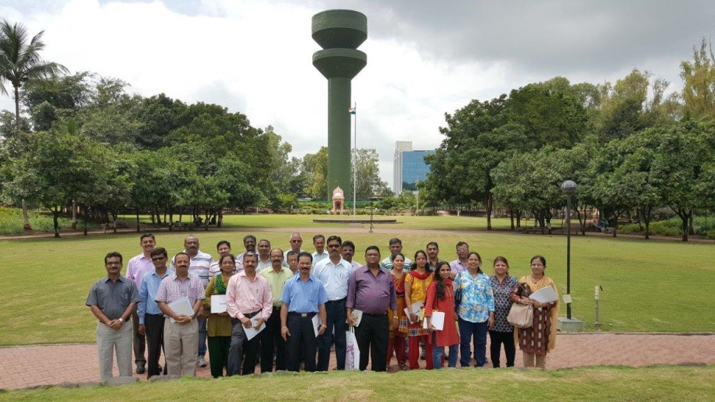 Batch I - 26 Under Secretaries of Mantralaya visit to study Magarpatta City on 23rd Aug 2015.jpg