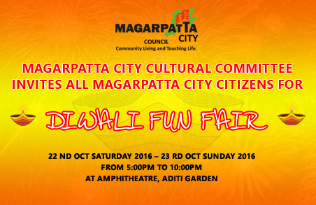 Diwali Fun Fair on Saturday, 22nd & Sunday, 23rd October 2016