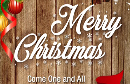 Merry Christmas – free live events on 18th, 21st & 22nd December