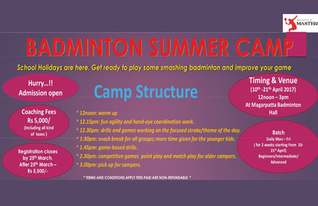 Badminton Summer Camp & Fitness