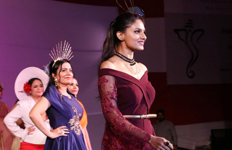 Fashion Show at the Ganesh Festival – 2017