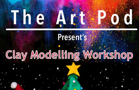 Christmas special- learn the basic techniques of clay modelling